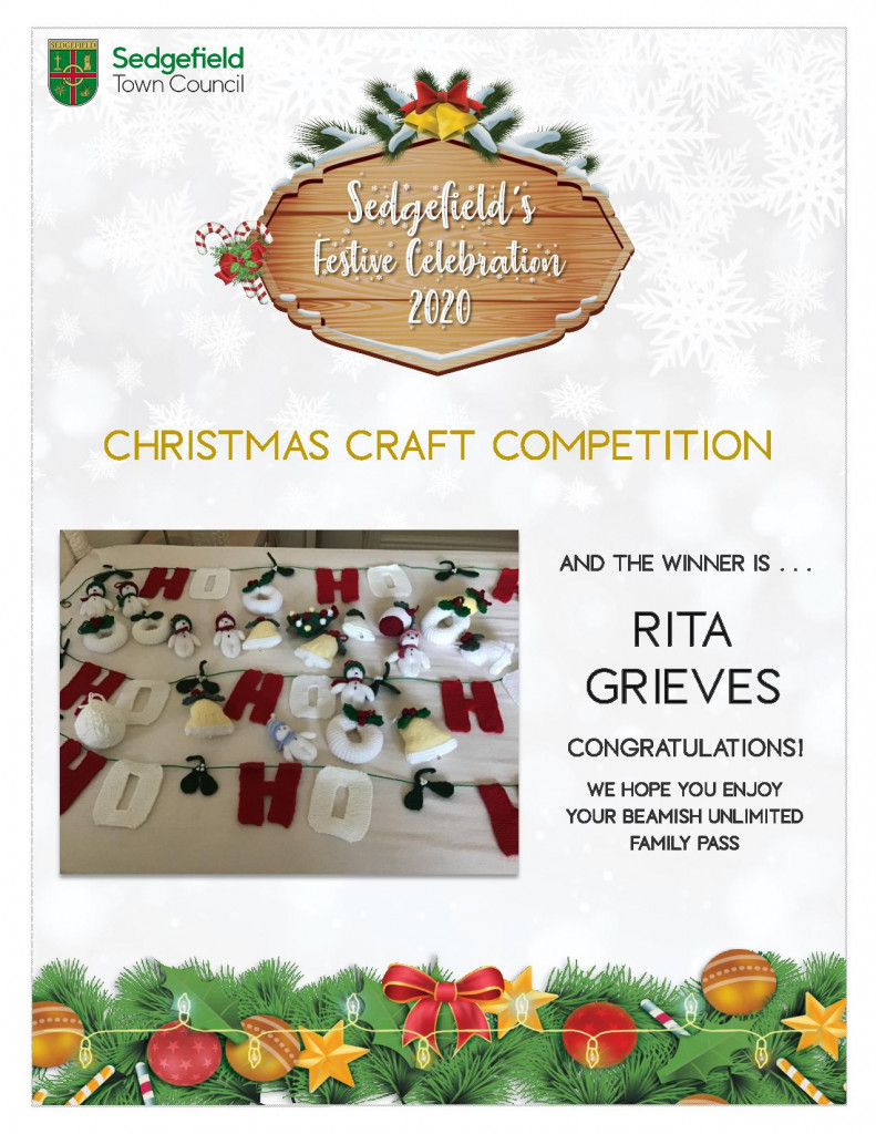 WINNER Christmas Craft Competition 2020