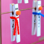 Clothespin-Snowman-Craft-for-Kids